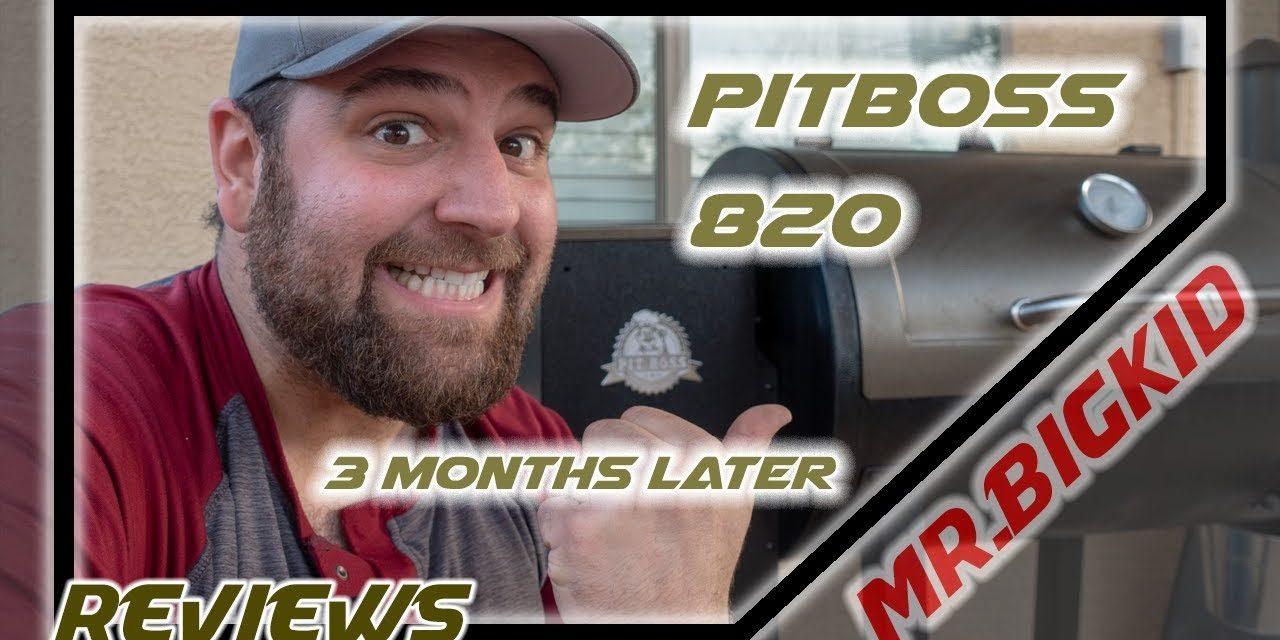 Pit Boss 820 Pellet Smoker: Review 3 Months Later | BBQ ...